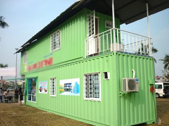 Cận cảnh nhà container đầy đủ nội thất giá 100 - 200 triệu tại Việt Nam